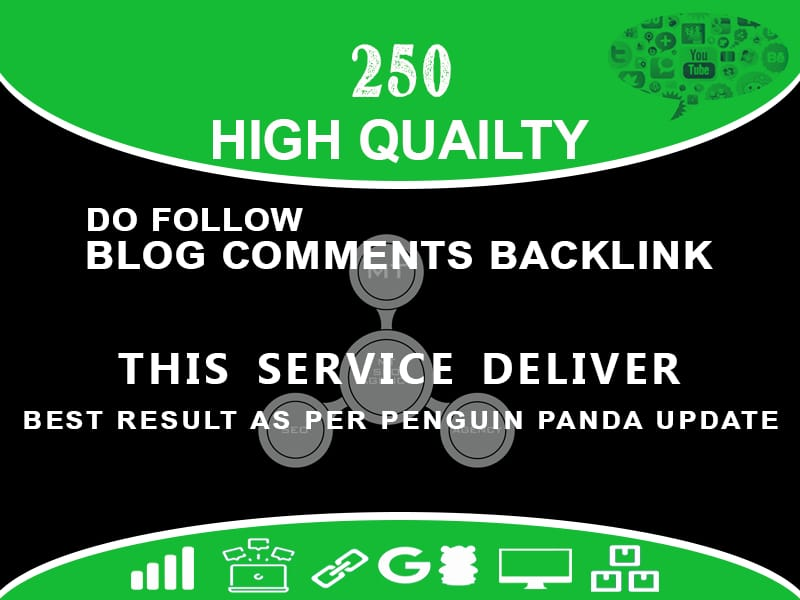 Build 250 High Quality Blog Comments With Permanent Links