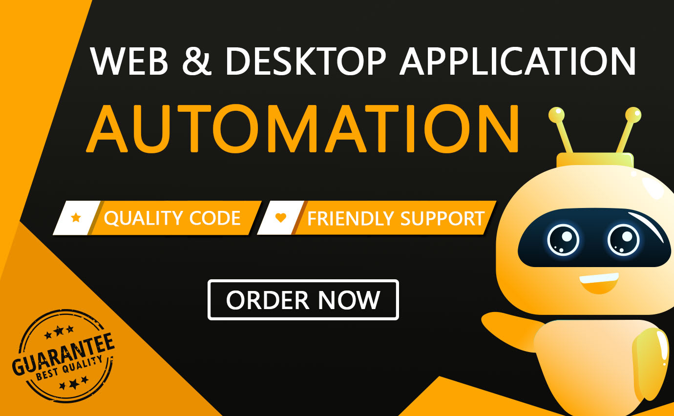 Develop bot for automating your bulk tasks