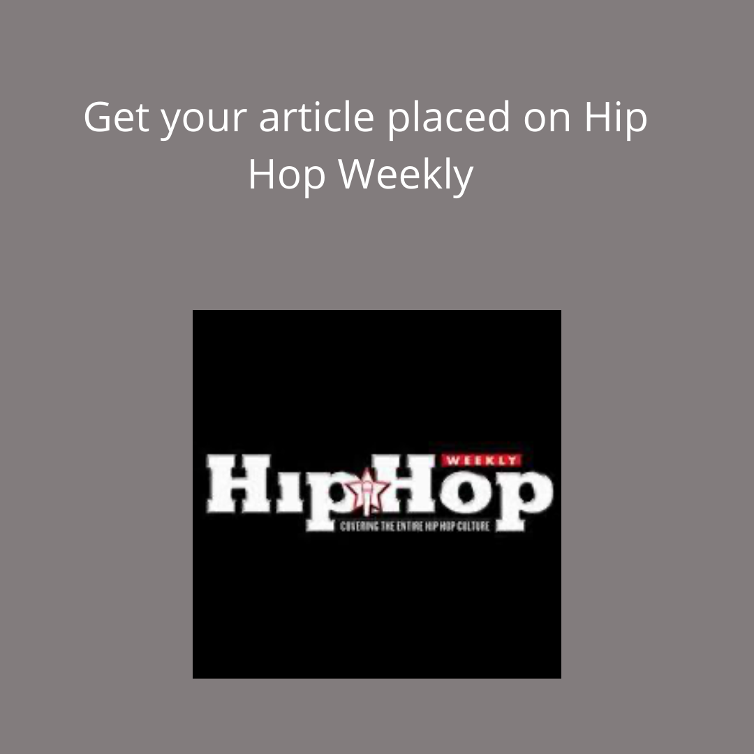 Article write up on Hip Hop Weekly