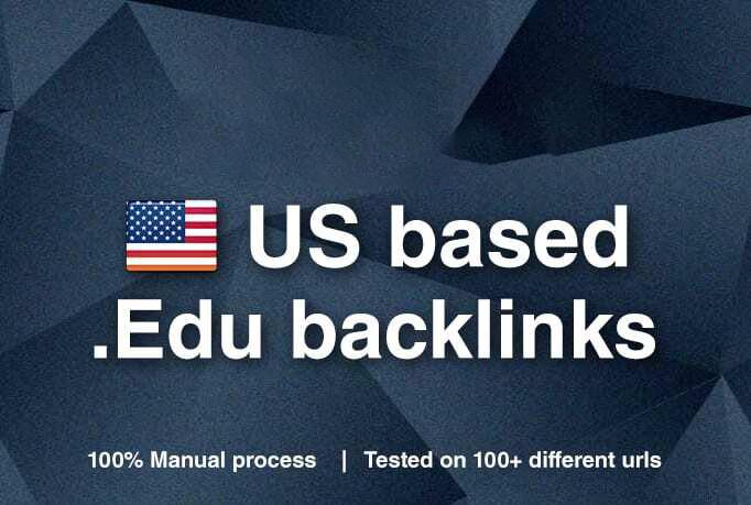 manually 450 edu backlinks for your website