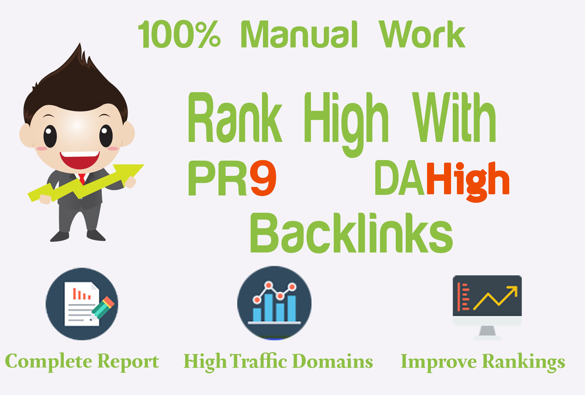 boost your rankings with 2000 high pr links,  high da backlinks