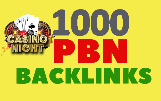 Create 1000 PBN links from DA 60+ sites