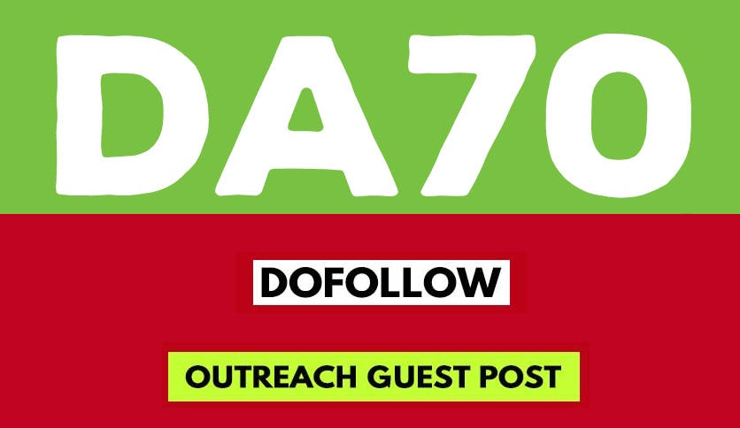 Create an Article on Our DA70 News Website With Dofollow Link