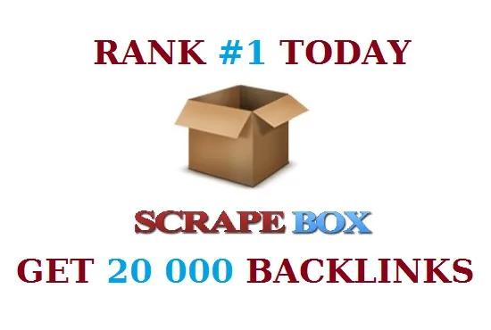 Build 20000 Blog Comments Backlinks offpage SEO