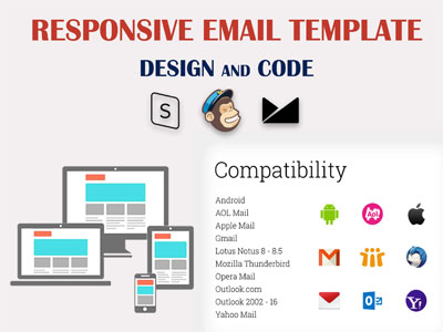 I will create responsive email template