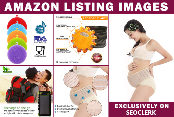 I will design professional amazon product listing images