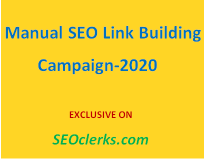 do manually linkbuilding for your business websites