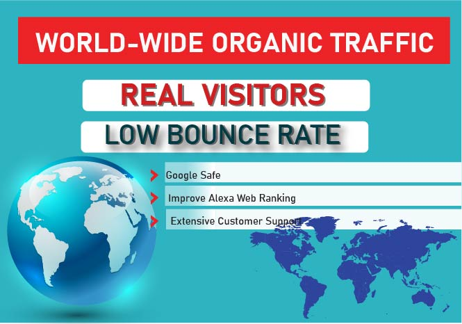 REAL ORGANIC TRAFFIC FOR 6 Month to YOUR WEBSITE THROUGH SOCIAL MEDIA MARKETING