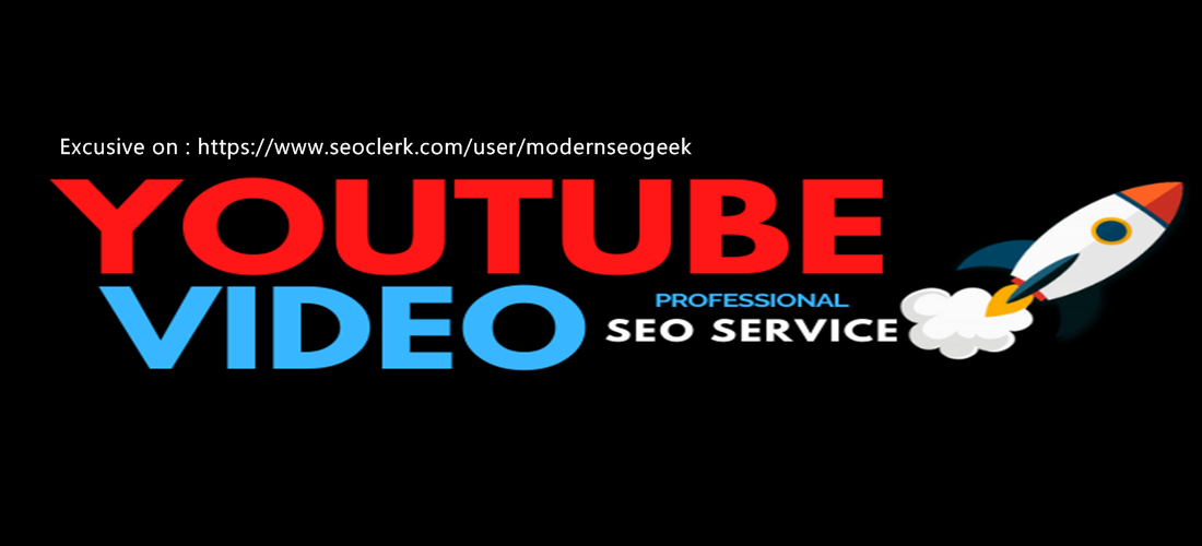 Organic YouTube seo backlinks and video embed for ranking
