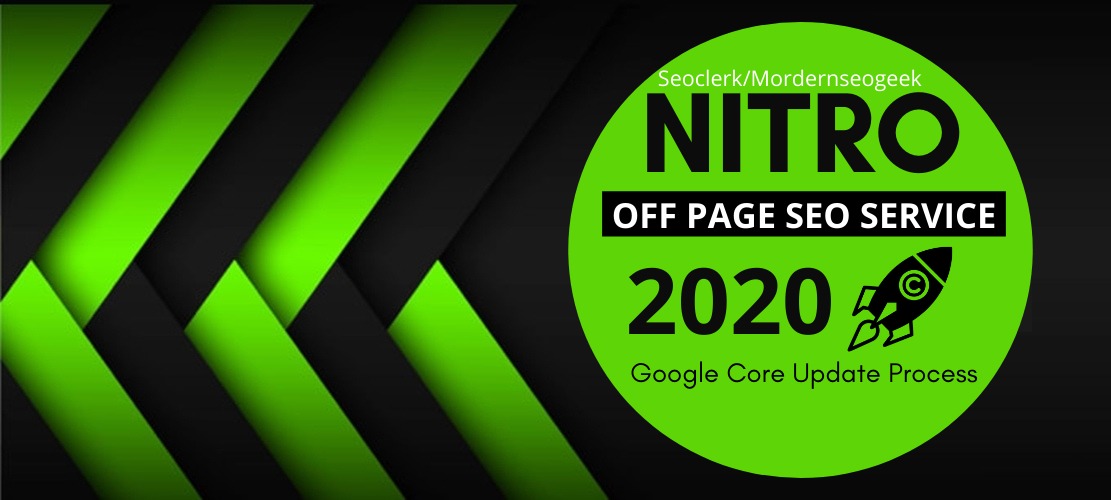 I will provide Google Rank NITRO off page seo Link building,  Backlinks