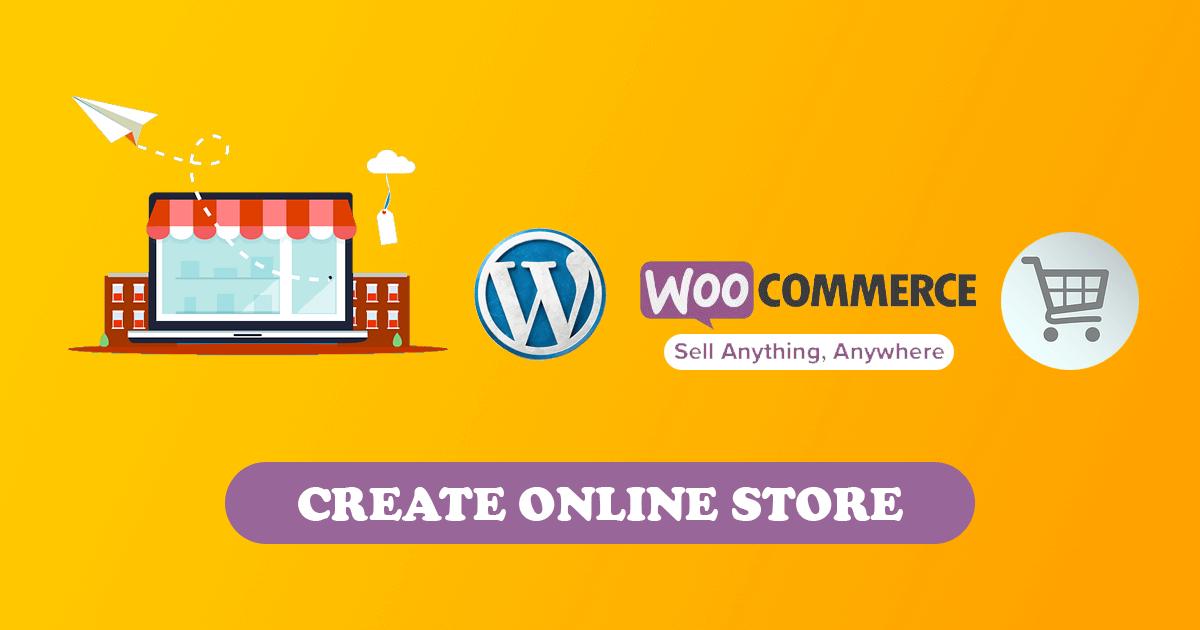 Create a online store e-commerce website