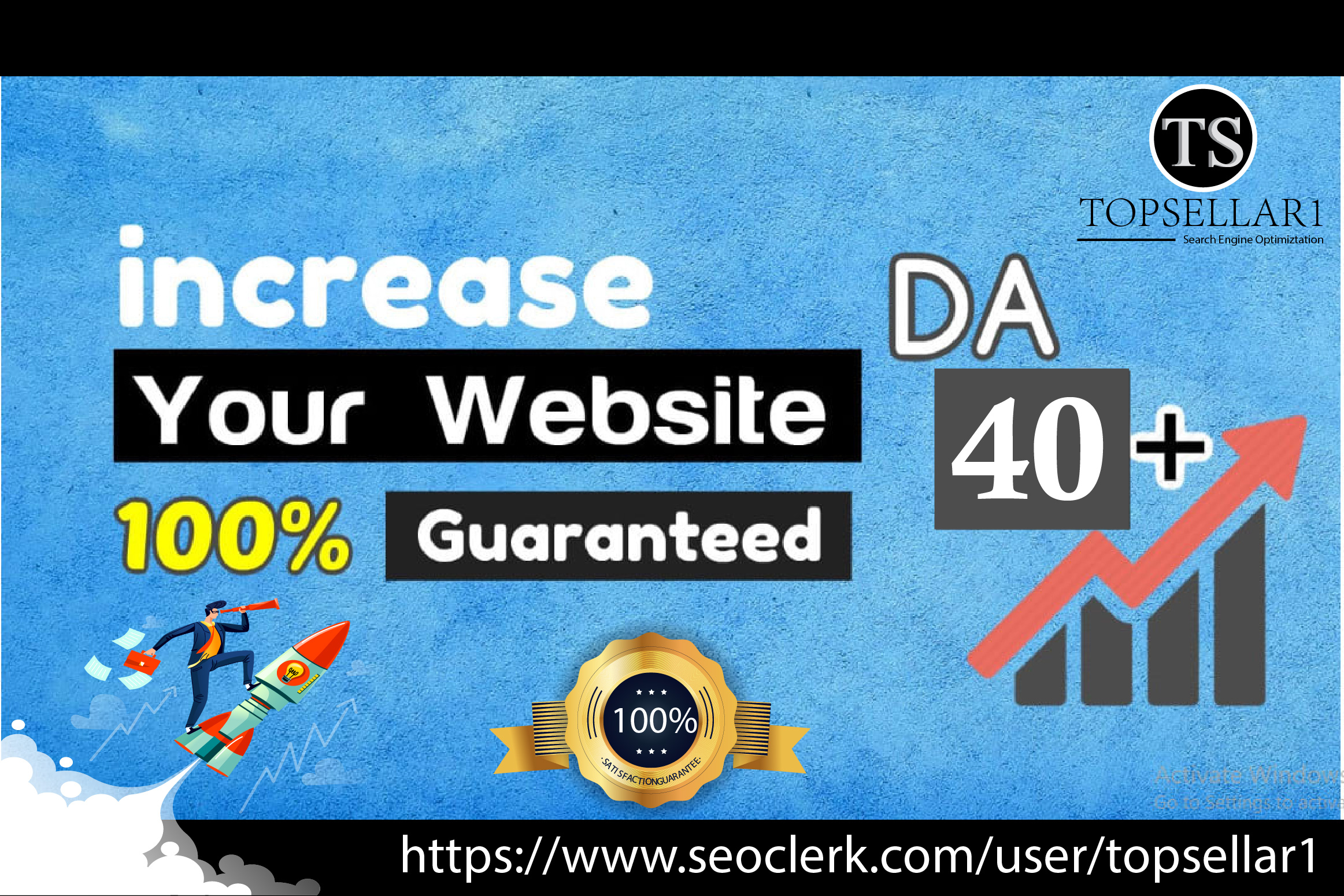 SEO Fosters-Increase your domain authority,  moz DA PA upto 40+