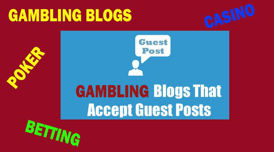 Publish guest post on gambling blog da 27 dr 72 permanent backlink boost ranking on google