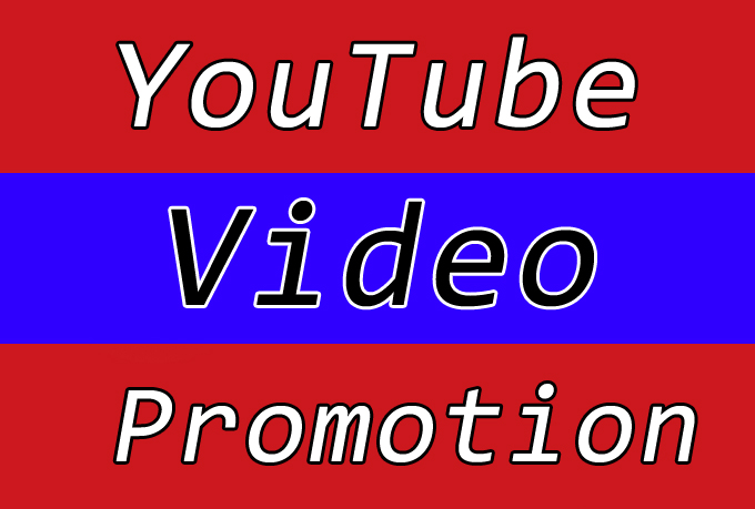 High Quality YouTube Video Promotion with Best Seo Raniking Marketing