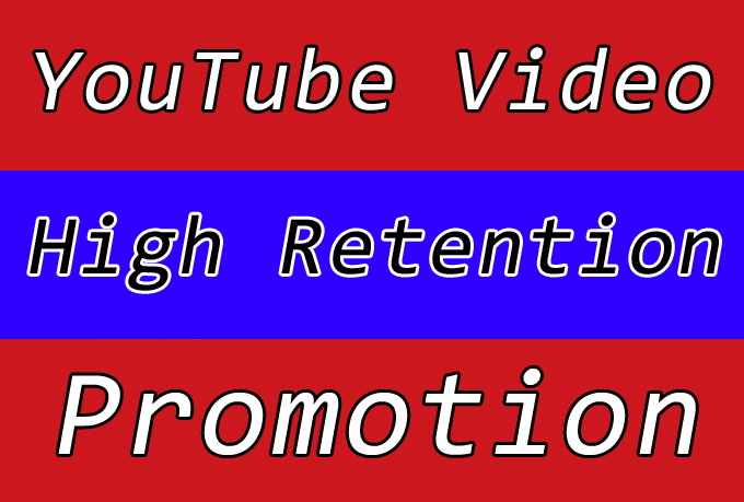 High Retention YouTube Video Promotion with Best Seo Raniking Marketing