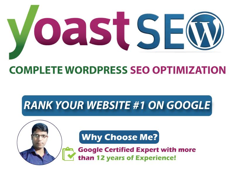 WordPress Yoast On Page SEO Optimization for Top Google Ranking & Traffic