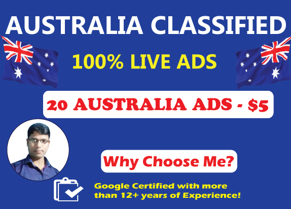 Post 20 High Authority Australia Classified Ads to Drive Traffic & Sales