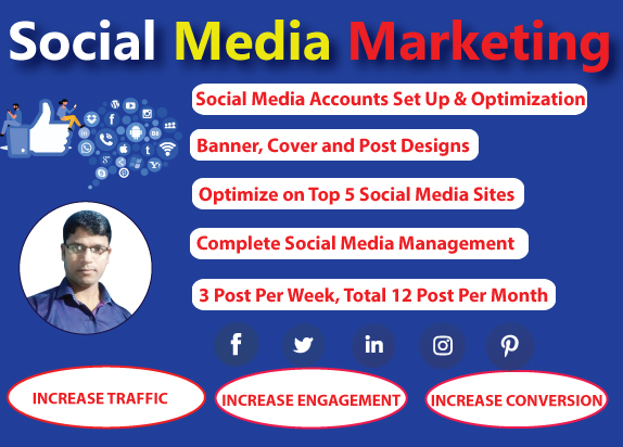 I will be your Professional Social Media Marketing Manager for 30 days
