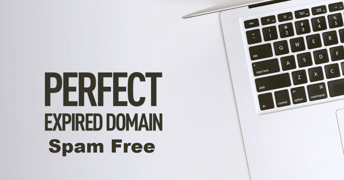 I will find spam free expired domain da 10plus pa 10plus