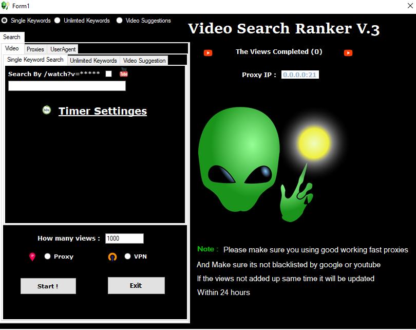 UTube - Video Search Engine Ranker V3.0