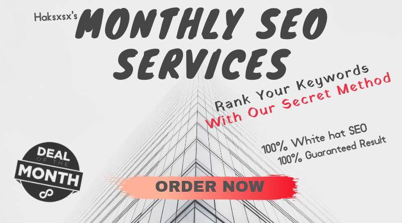 Monthly SEO Service For Up to 3 Keywords w/ Refund Guarantee If Keywords Don't Move