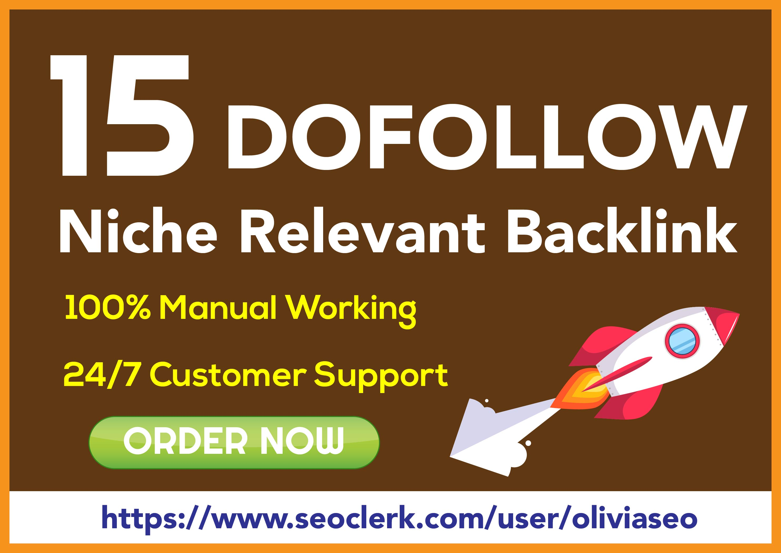 15 niche relevant dofollow blog comment backlinks