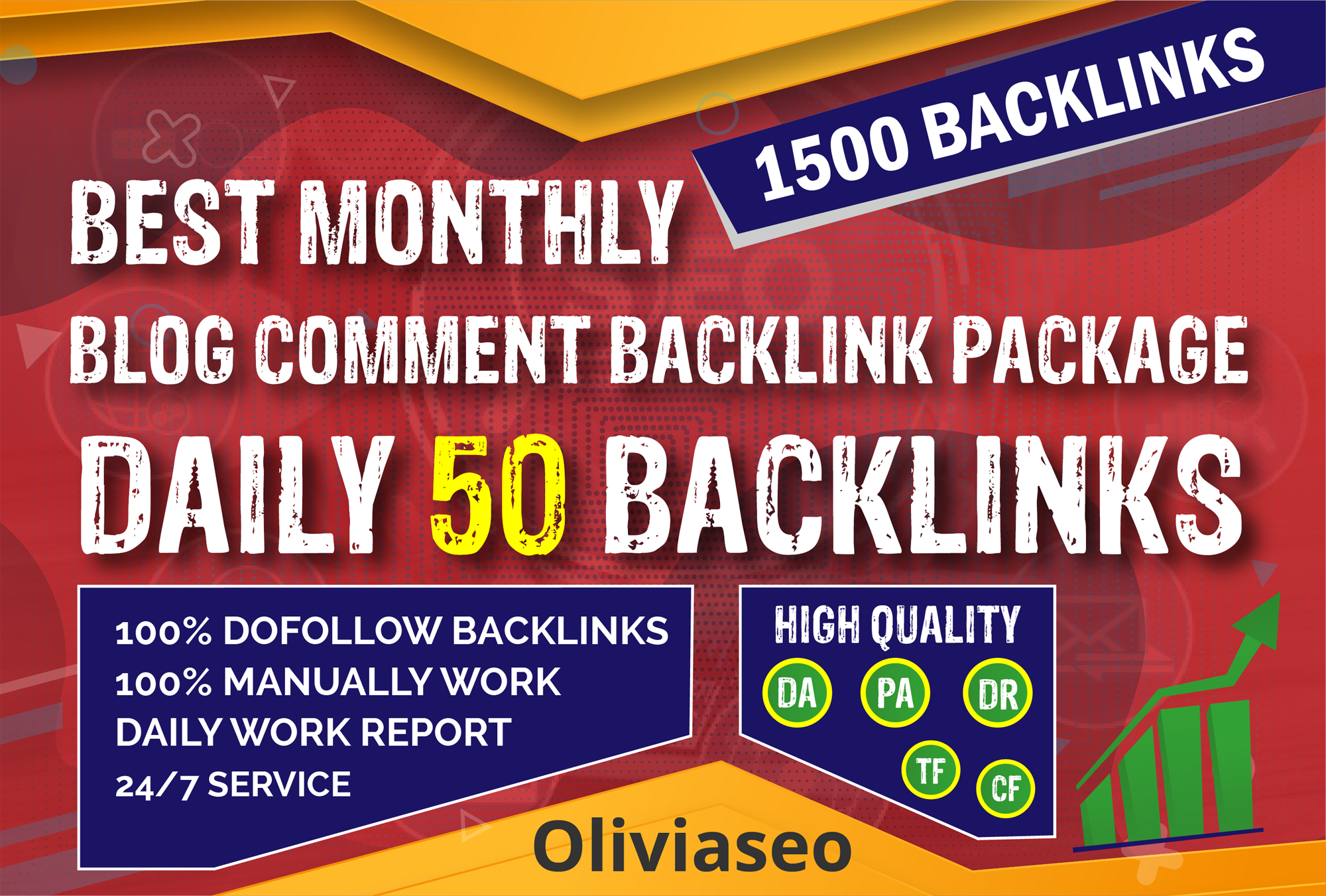Build 30 Day Drip Feed Dofollow Blog Comment Backlink Package Daily 50 Backlinks To Improve Ranking