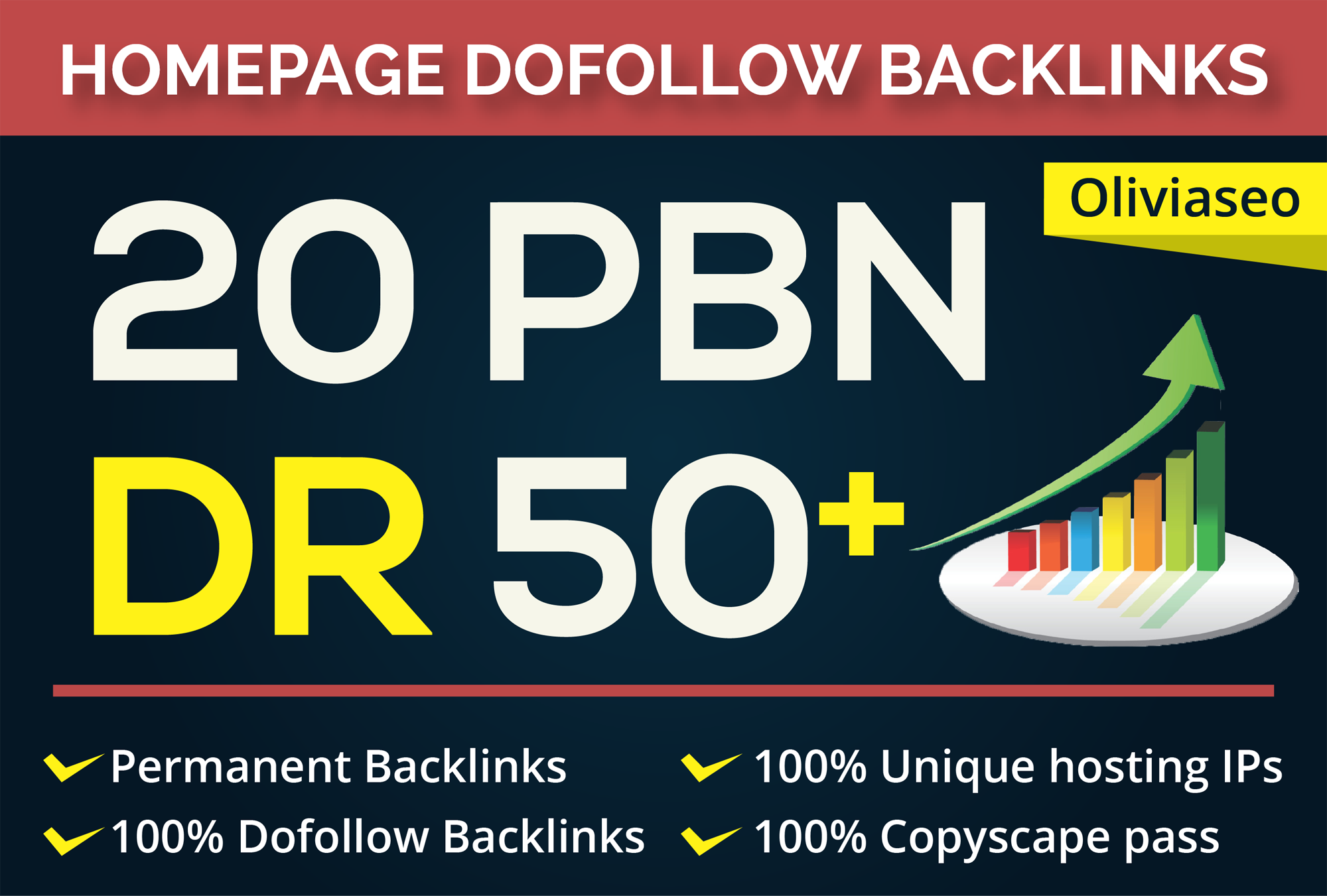 Make DR 50 to 70 Permanent Homepage PBN Backlinks