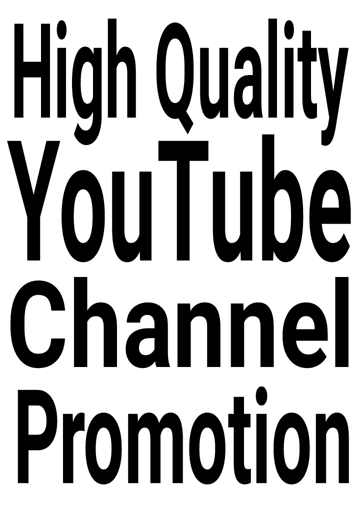 SUPER OFFER High Quality YouTube Promotion via real users and fast delivery