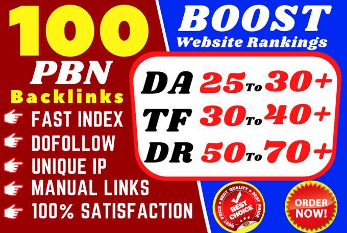 Buy High Quality DO follow backlinks with High DA, DR and TF