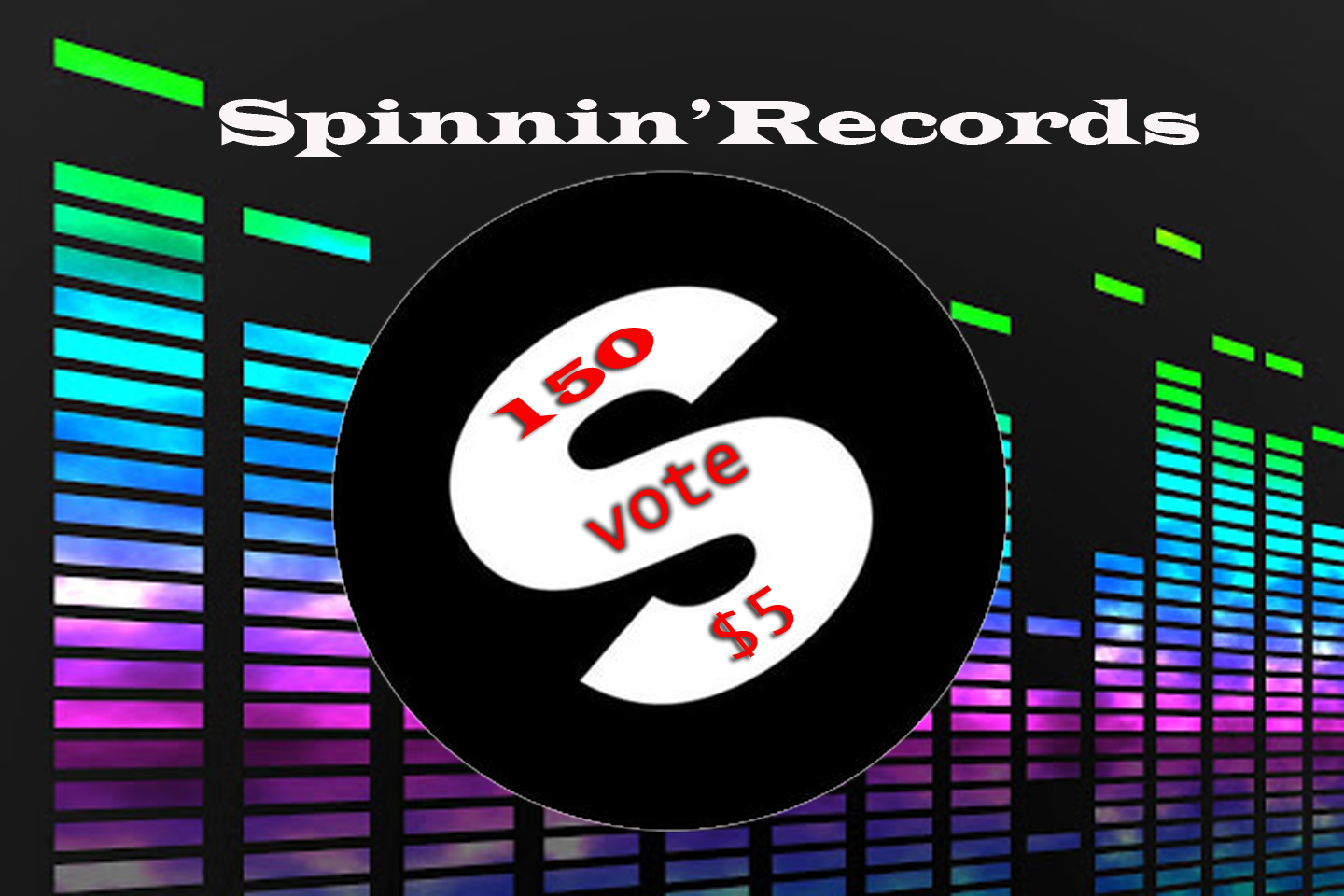 Get You 150 Spinnin records talent pool votes for your contest