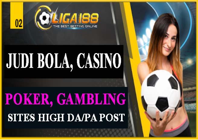 BUILD 750 JUDI ONLINE,  CASINO,  POKER,  GAMBLING Sites Pbn Post Backlinks Boost Your Website Ranking