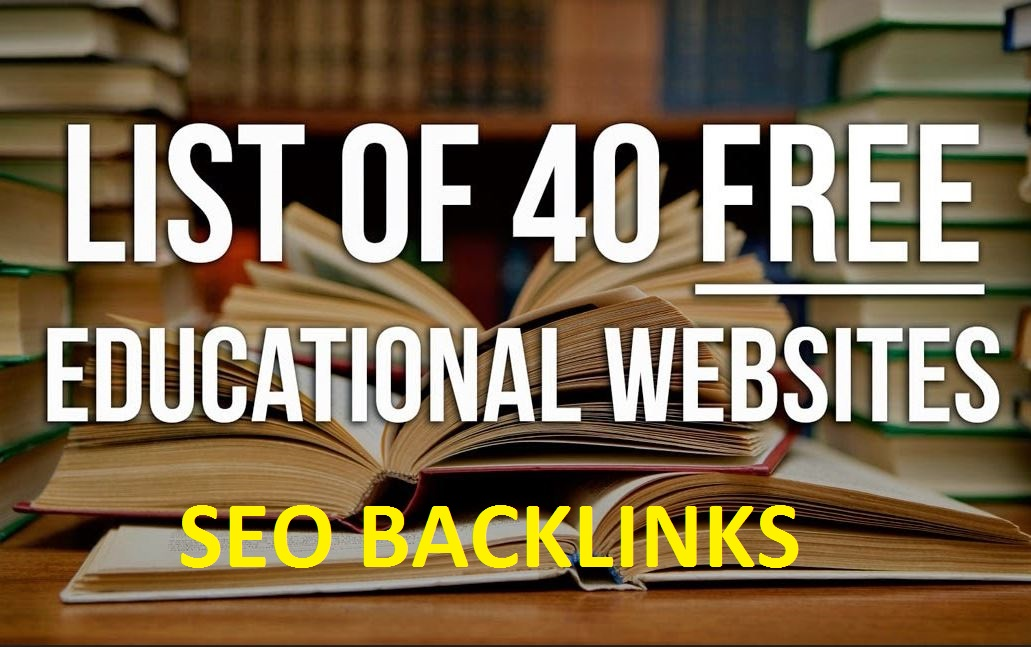 Manual created 20 EDUCATION goverment Site Seo Backlinks