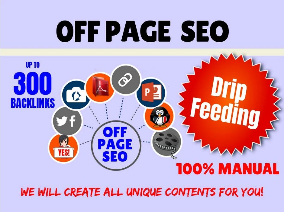Complete Off-Page SEO Linkbuilding Package