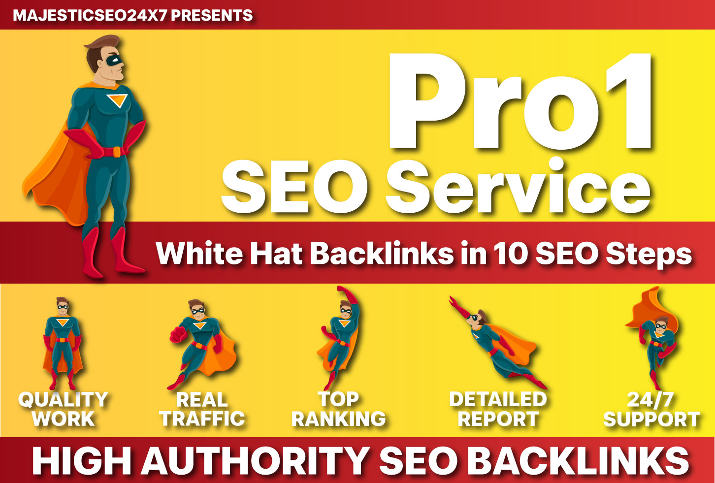 10 STEP Pro1 SEO Package and Explode Your Ranking