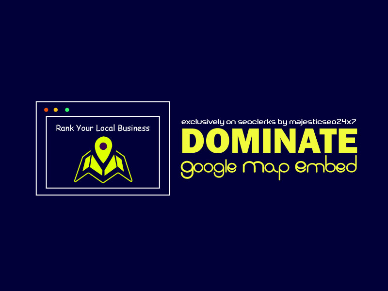 Manually embed your google map into 150 web 2.0 blog for local business ranking