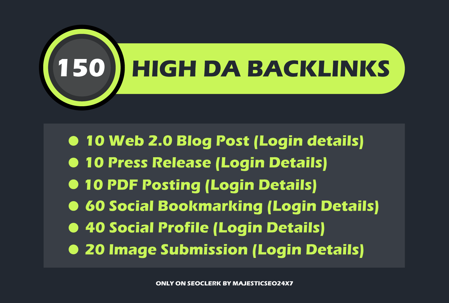 150 safe high DA SEO contextual backlinks help you rank higher on google