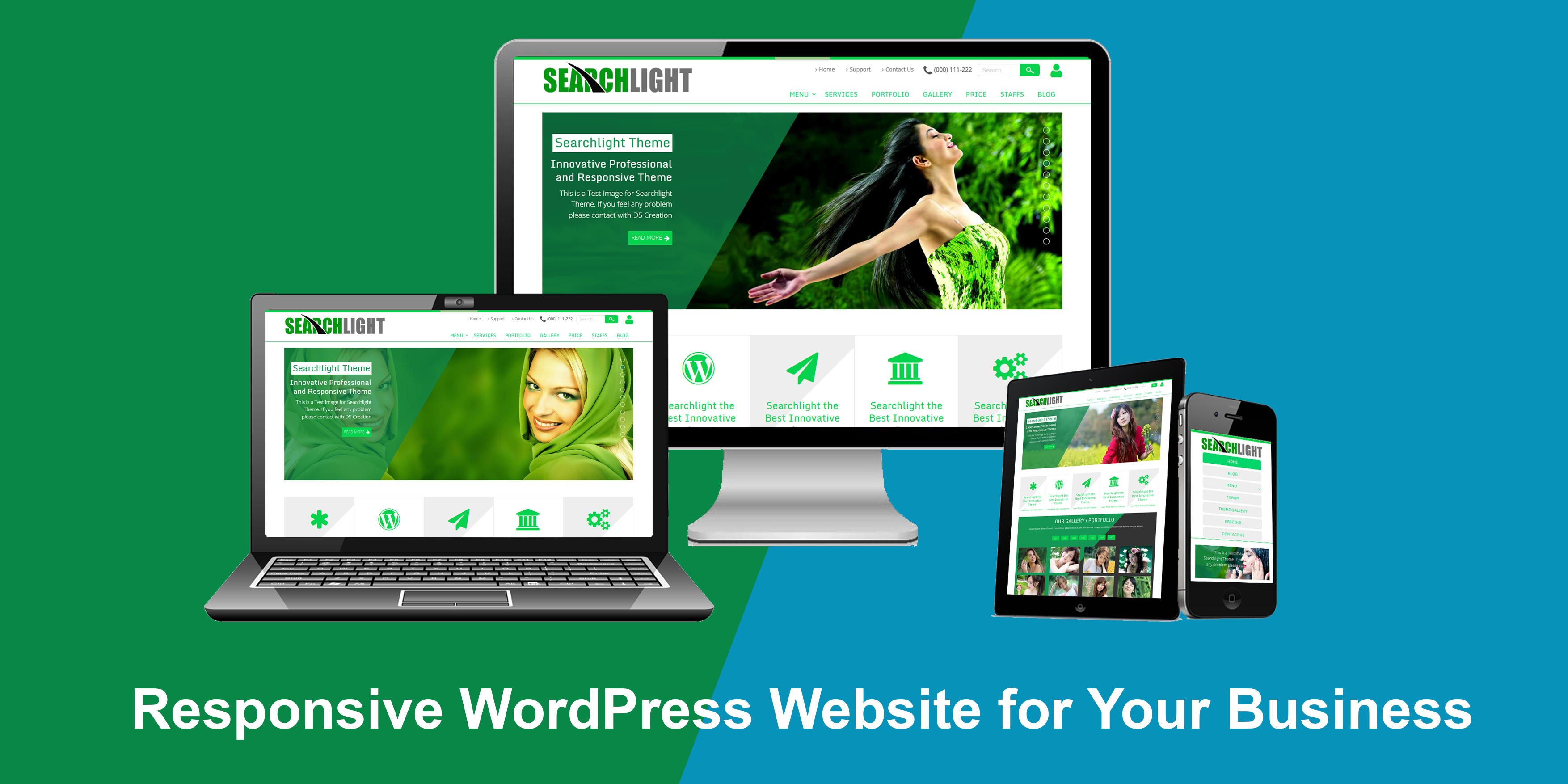 I will Do wordpress theme Customize or Redesign Wordpress website