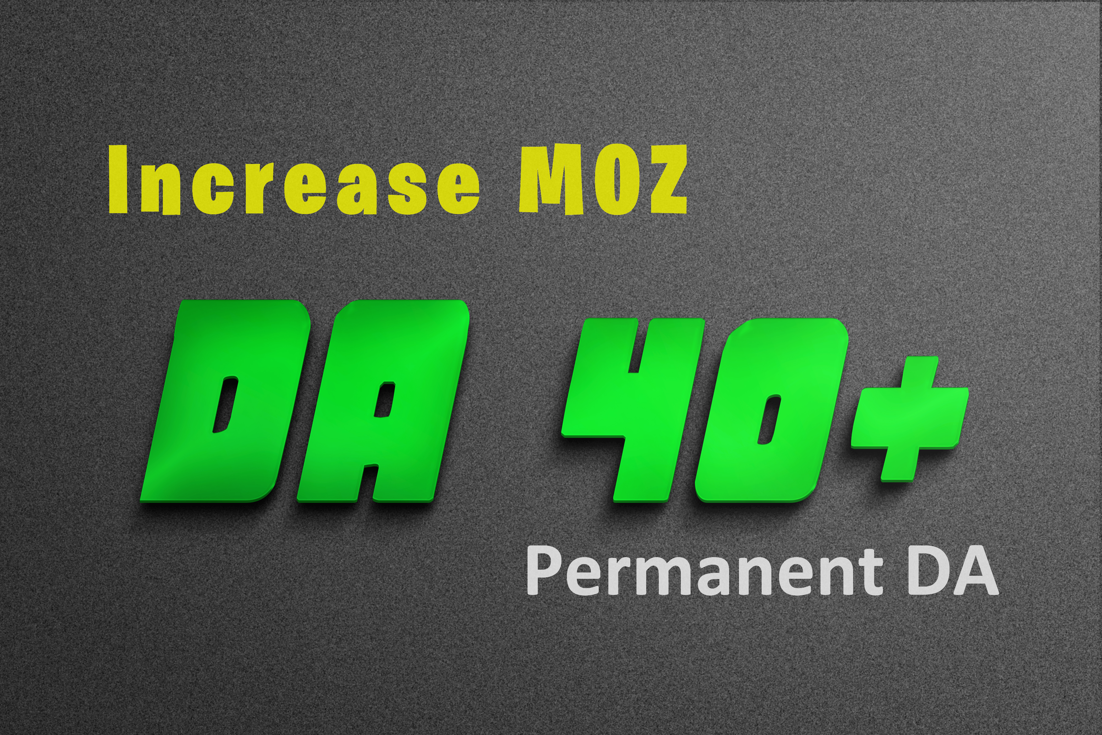 Increase Moz DA0 to DA40+ of your any website and PA 30 by MOZ get high Domain power and authority