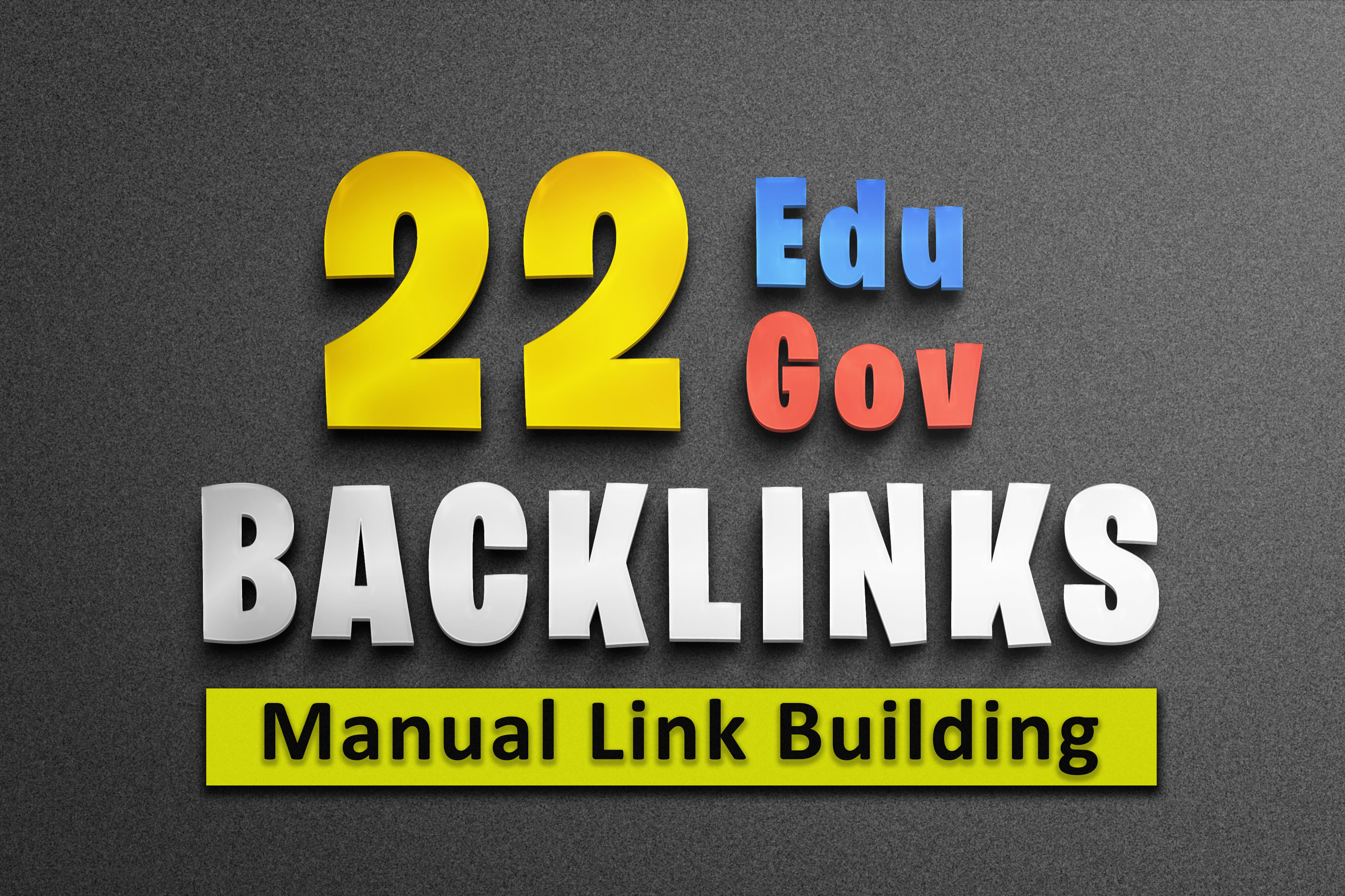 Offer 22 EDU and GOV high Authority manually created Backlinks for google ranking