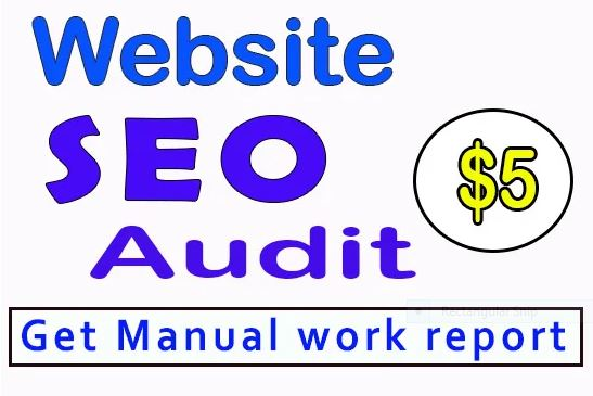 Website AUDIT with detailed SEO report review website and provide a complete SEO Report