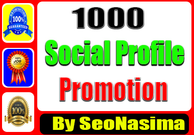 Social Profile Promotion. Social Media Marketing Organic