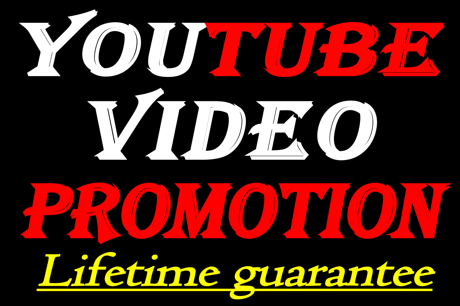 YouTube video Promotion and Marketing Through social media promotion