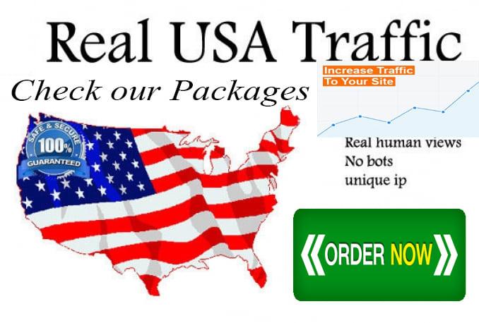 Drive 100,000 USA Keyword Targeted,  Organic Website Traffic By Google yahoo bing