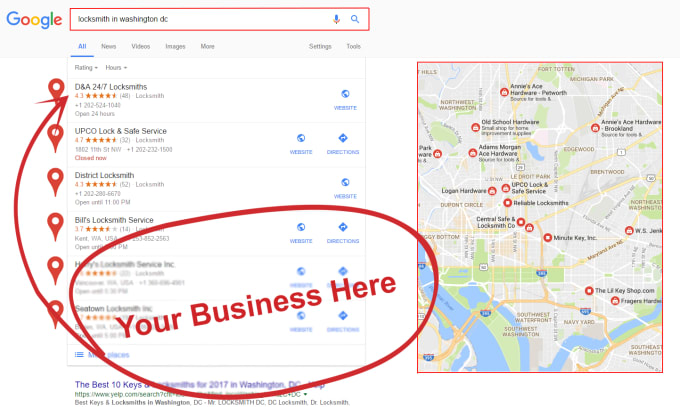 50 google maps citations for local business SEO