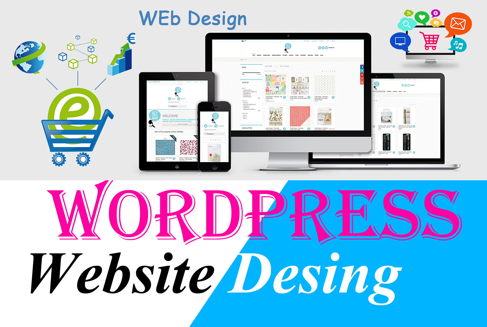 Design,  develop,  responsive,  fast,  SEO friendly wordpress website