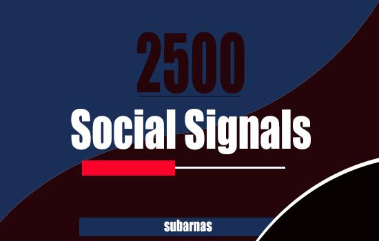 Manually 1500 SEO Social Signals Backlinks