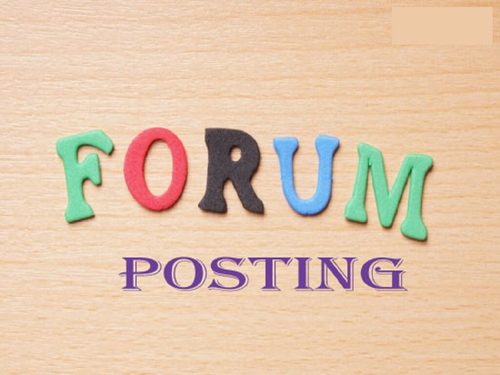 Improve your site by 35 Organic Forum Posting