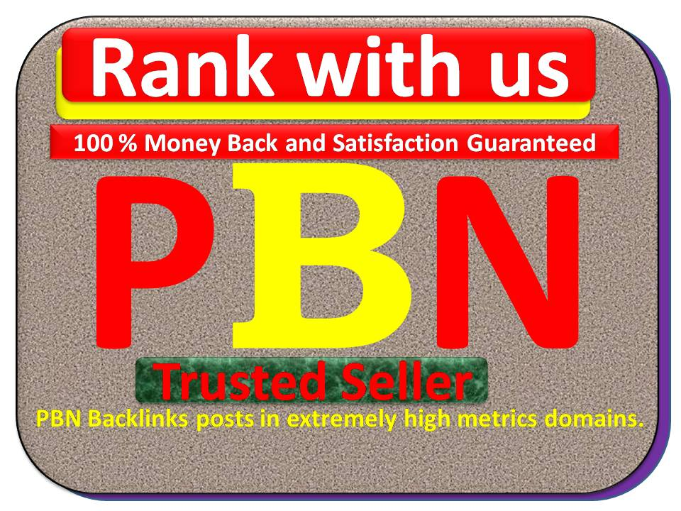 Rank your Links on Top with 250 Plus PBN Backlinks