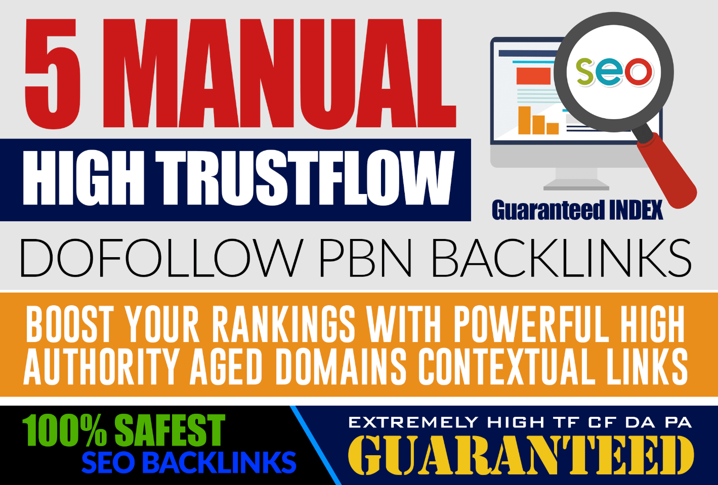 Do 5 Homepage DA 20+ PBN Backlinks - With UNIQUE Content